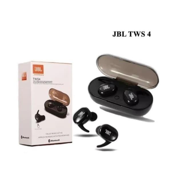 Jual Headset Bluetooth Jbl Tws 4 Wireless Earphone Bluetooth Bt Isi 2pcs Lr Kota Banjarmasin Youtakasimura Tokopedia