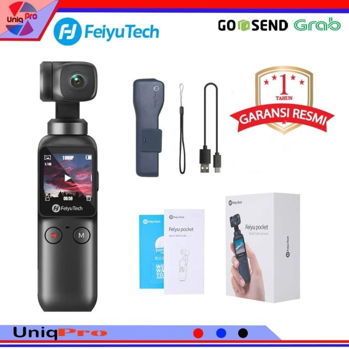 Foto Produk Feiyu Pocket 4K Gimbal Stabilizer camera ( bukan dji osmo pocket ) dari UniqPro