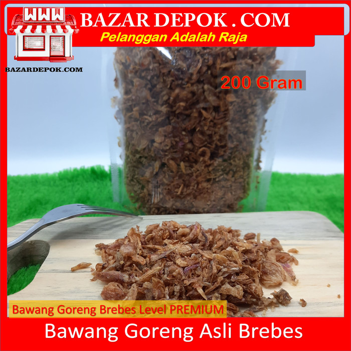 Foto Produk Bawang Goreng brebes renyah - 100 gram dari Bazar Depok