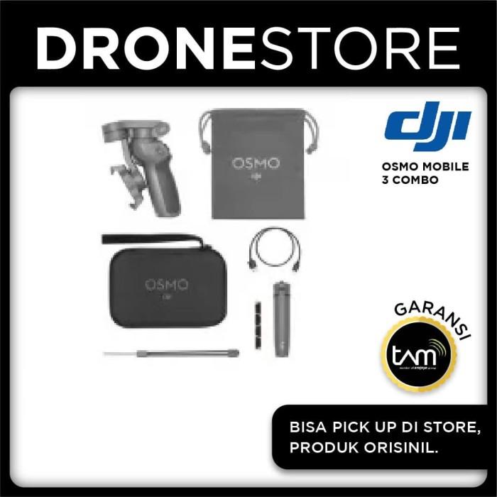 Foto Produk DJI Osmo Mobile 3 Combo Stabilizer HP Handheld Gimbal Garansi Resmi dari DroneStore