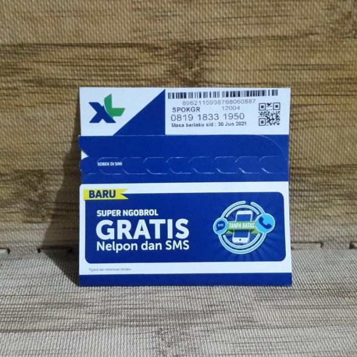 Foto Produk Nomor Cantik XL 1833 1950 Perdana XL SUPER NGOBROL - 30 Jun 2021 dari idStoreplus