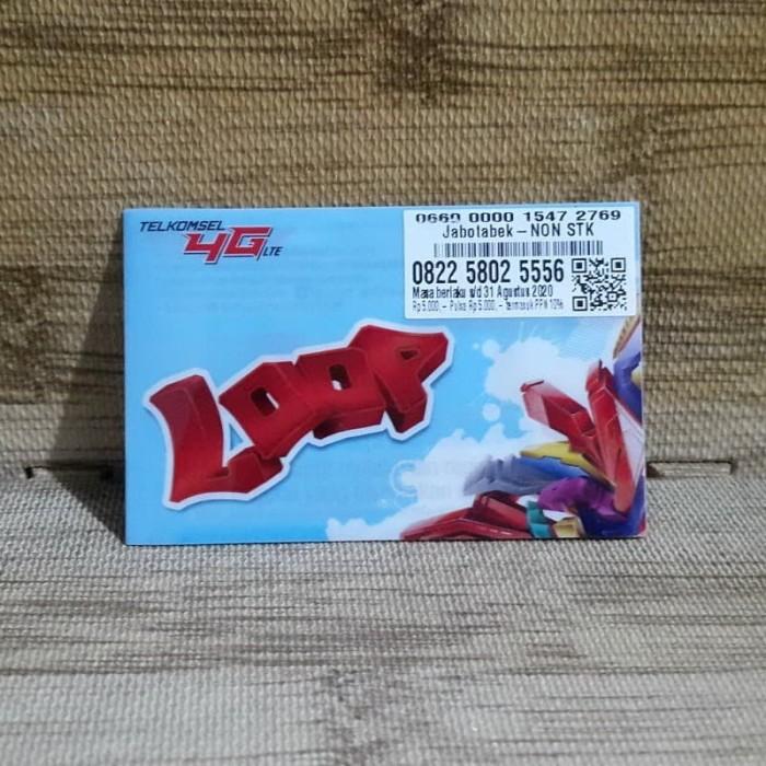 Foto Produk Nomor Cantik LOOP 5802 5556 Telkomsel 4G LTE Exp 31 Agustus 2020 dari idStoreplus