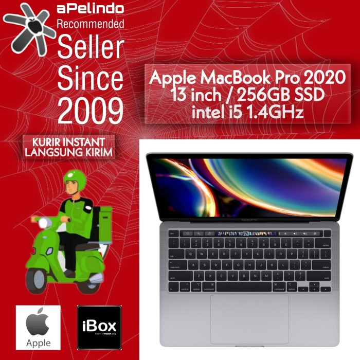 Jual Apple MACBOOK PRO 2020 MXK32 13/13.3 256 GB/256GB ...