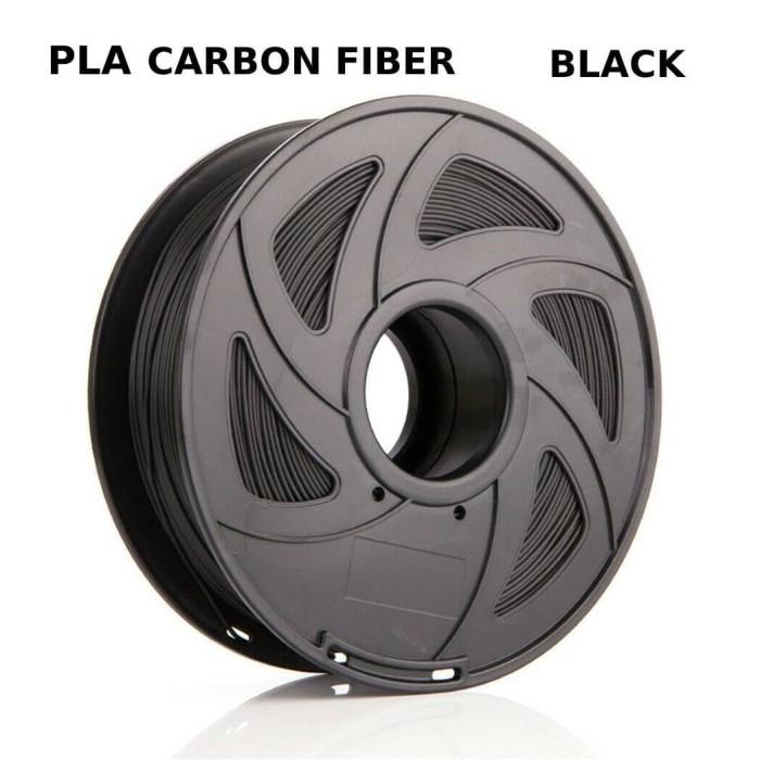Foto Produk Bahan Filament FIlamen Printer 3D Carbon Fiber Nylon Hitam Black dari voltapro