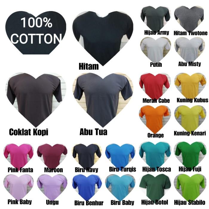 Foto Produk Kaos Polos Putih Soft Cotton, Cotton Combed 30s dari JIPILICIOUS