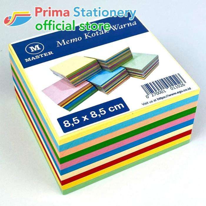 Foto Produk Memo Kotak Warna dari Prima Stationery