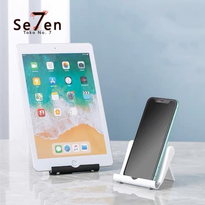 Foto Produk Stand Phone Tablet iPad iPhone HP Universal Dock Holder Meja dari Toko No.7