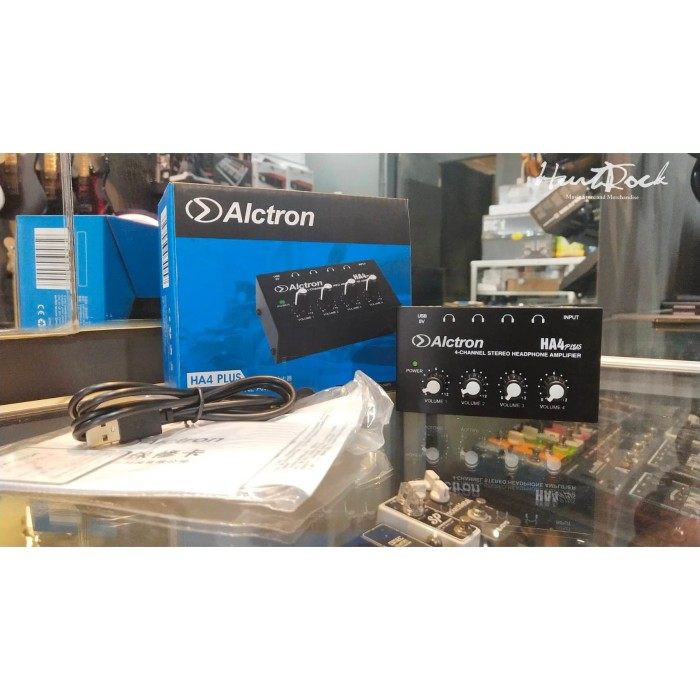 Foto Produk Alctron HA 4 Mini Headphone Amplifier Murah Di Bandung dari HurtRock Music Store
