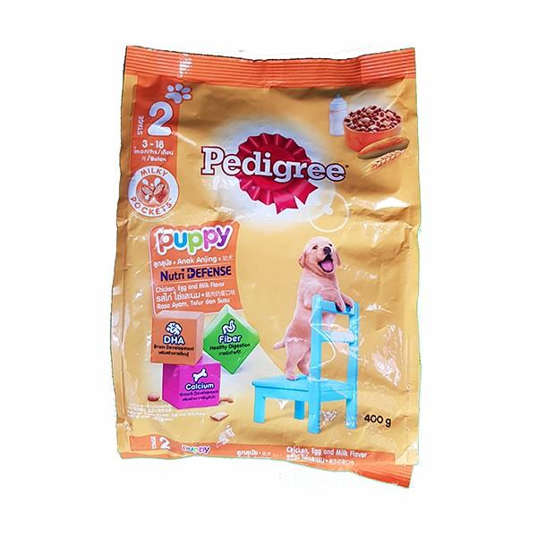 Foto Produk pedigree 400 gr puppy chicken egg and milk flavor dari F.J. Pet Shop