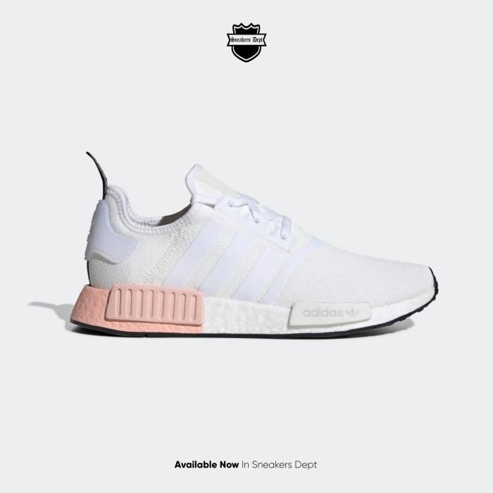 Jual Adidas NMD R1 Cloud White - 42