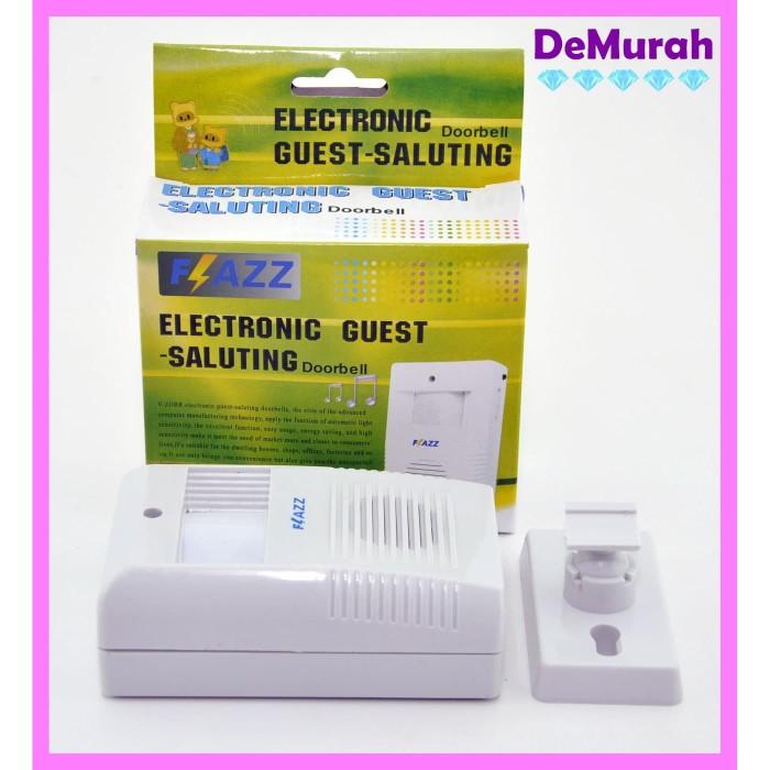 Foto Produk Bel Pintu Sensor Gerak Flazz / Electronic Guest Saluting Wireless dari Demurah Dot Com