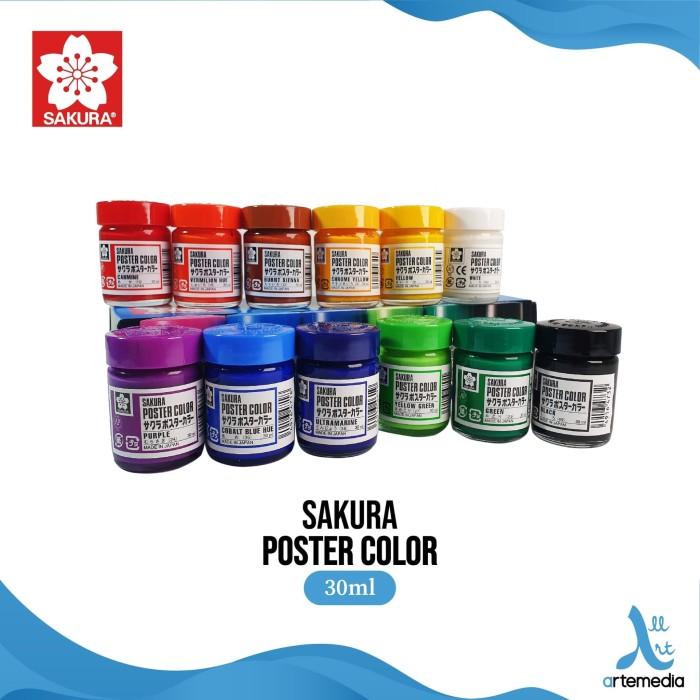 Foto Produk Sakura Cat Poster 30ml - Reguler - DEEP YELLOW dari Artemedia Shop