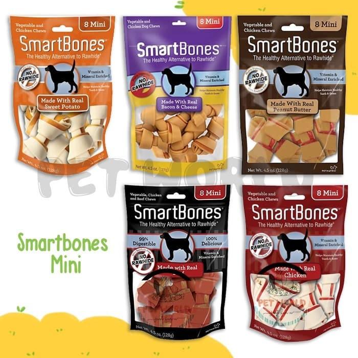 Foto Produk Smartbones Mini - Smart Bones Cemilan Anjing Dog Snack Makanan 8 dari PetWorld