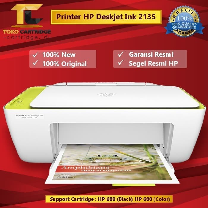 Jual Printer Hp Deskjet Ink Advantage 2135 Printer Scan Copy Hp 2135 Murah Kota Surabaya Tokocartridgeonline Tokopedia