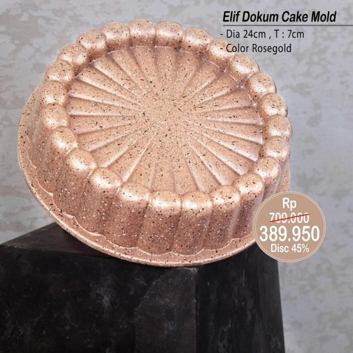 Foto Produk PERO ELIF DOKUM CAKE MOLD 24 CM ROSEGOLD dari Pero Indonesia