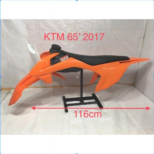 Foto Produk Cover Body Full Set Rep KTM 65 2017 - Orange dari Minibike