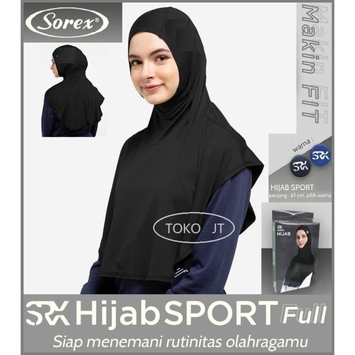 Jual Jilbab Olahraga Hijab Sport Full Kerudung Instan Sporty Muslimah Sorex Jakarta Barat Toko Jt Tokopedia