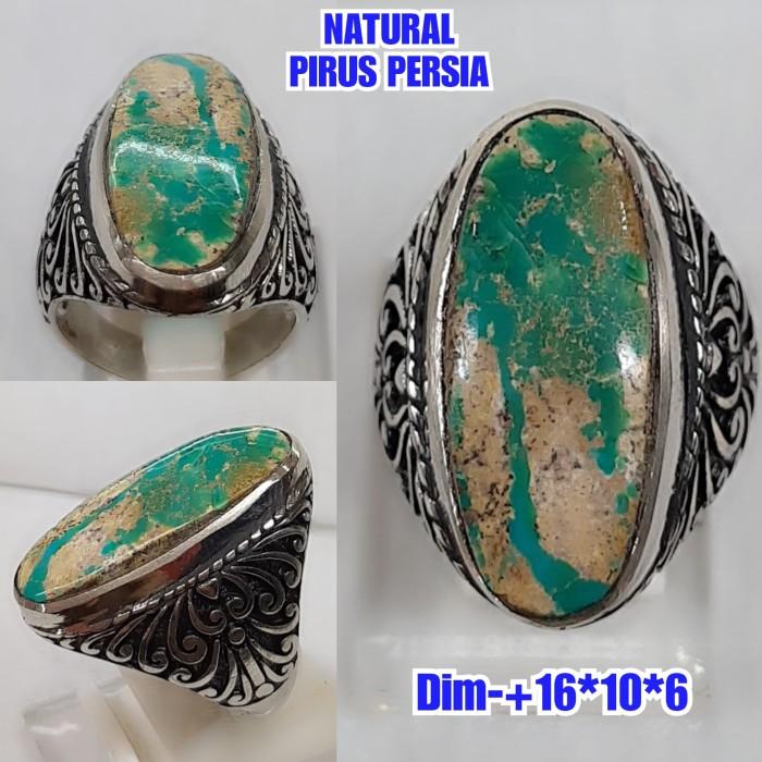 Foto Produk NATURAL BATU PIRUS PERSIA ASLI NATURAL B39 dari arjuna cincin
