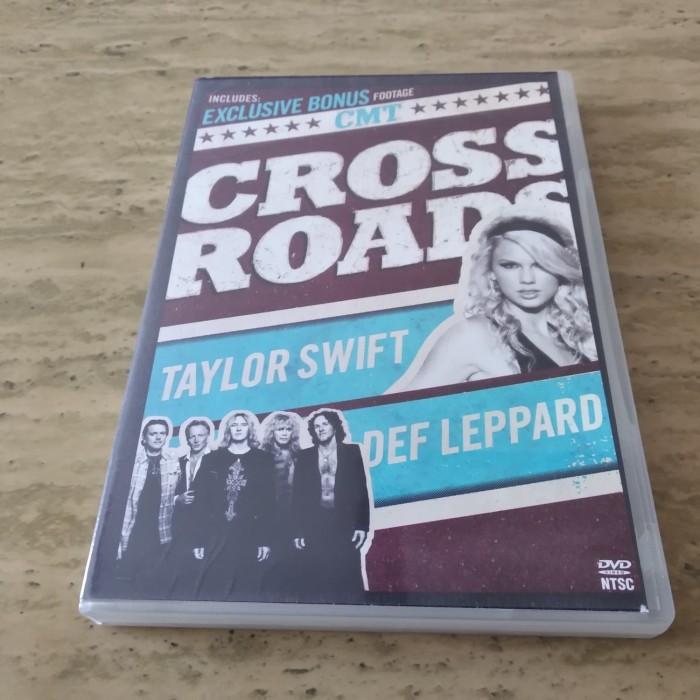 Jual Taylor Swift Def Leppard Cmt Crossroads Dvd Jakarta Barat Berlie Games Tokopedia