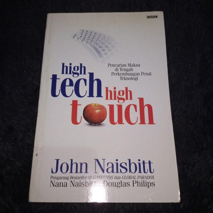 Jual High Tech High Touch John Naisbitt Jakarta Selatan Arsa Bookstore Tokopedia