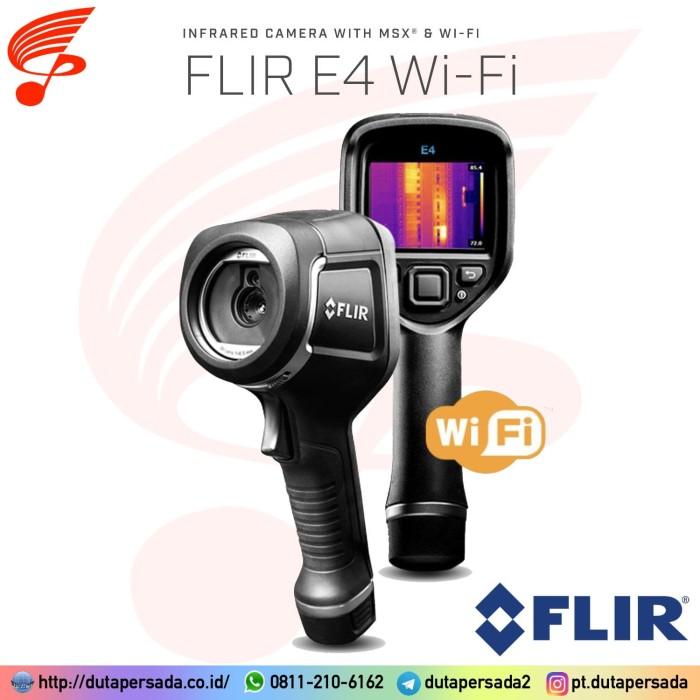 Foto Produk Flir E4 with WIFI (NEW MODEL) Thermal Imaging Camera dari DUTA PERSADA Instruments