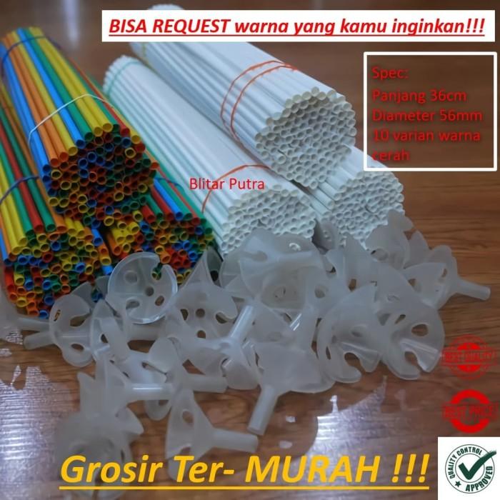 Foto Produk (GROSIR ter MURAH) Stick cup balon stik cup dari Blitar Putra