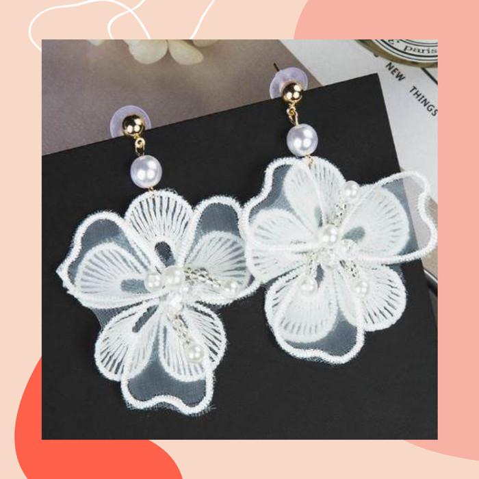 Foto Produk Anting Bunga / Flower Earrings / A3 dari CaaDoo's Style