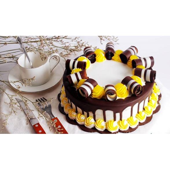Jual Kue Ulang Tahun Ultah Yellow White Lemon Cake Free Kartu Ucapan Jakarta Utara Super Cheap Tokopedia