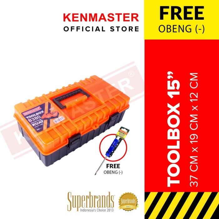 Foto Produk Kenmaster Tool Box B380 dari Kenmaster Official