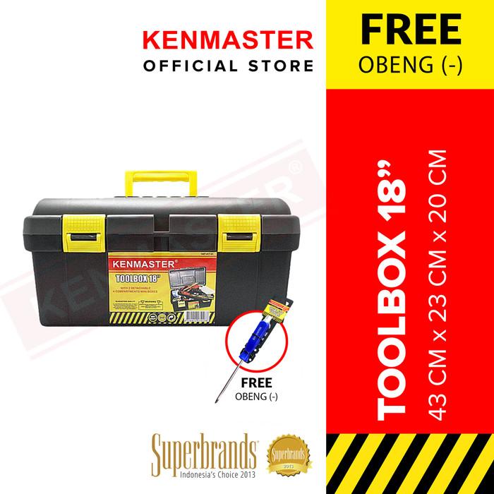 Foto Produk Kenmaster Tool Box 18 in dari Kenmaster Official