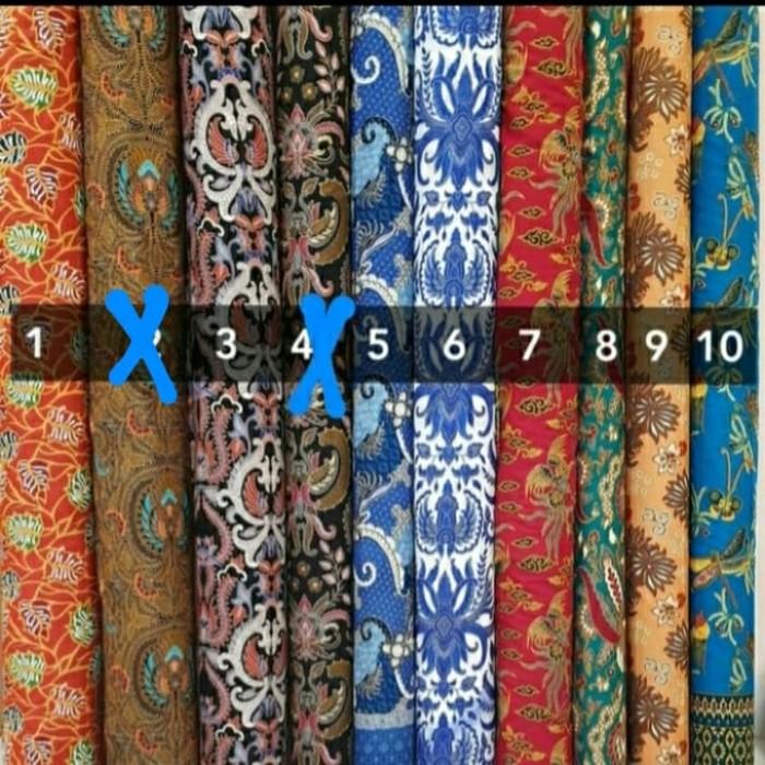 Foto Produk Kain batik katun premium meteran dari onemetrefabric