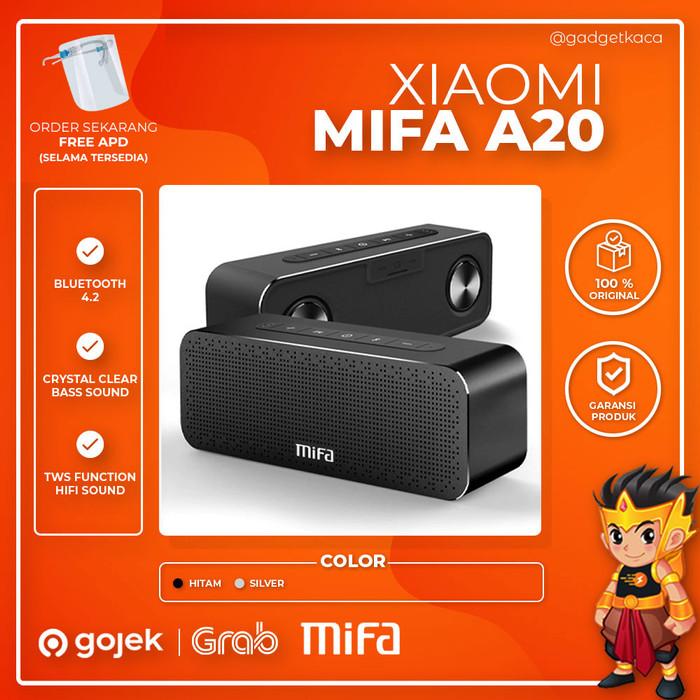 Foto Produk Speaker Bluetooth Wireless Portable Xiaomi Mifa A20 Double Bass 30W - Hitam dari GadgetKaca