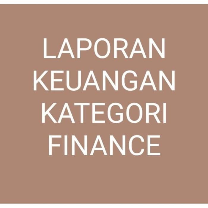 Jual Laporan Keuangan Di Bursa Efek Indonesia Kategori Finance Dalam Pdf Tahun 2018 Kota Semarang Pusat Ilmu Tokopedia