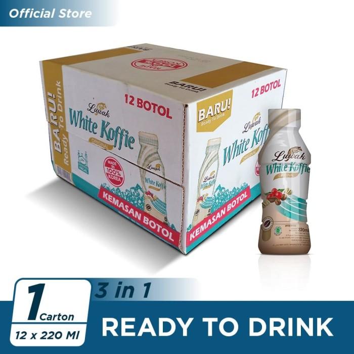 Foto Produk Kopi Luwak White Koffie Original Botol 220ml - 12 Pcs [Carton] dari Kopi Luwak Official