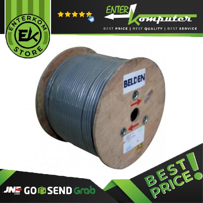 Foto Produk Belden Cable Stp Cat.6e 305 Meters (50106f) dari Enter Komputer Official