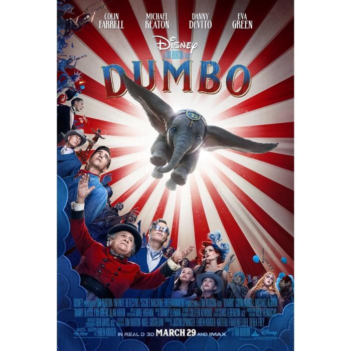 Jual Dvd Film Dumbo 2019 Kab Kediri Galaxy Film Tokopedia