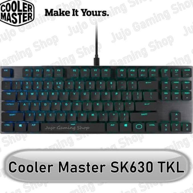 Jual Cooler Master Sk630 Low Profile Tkl Mechanical Gaming Keyboard Sk 630 Kab Bekasi Tokoainun55 Tokopedia