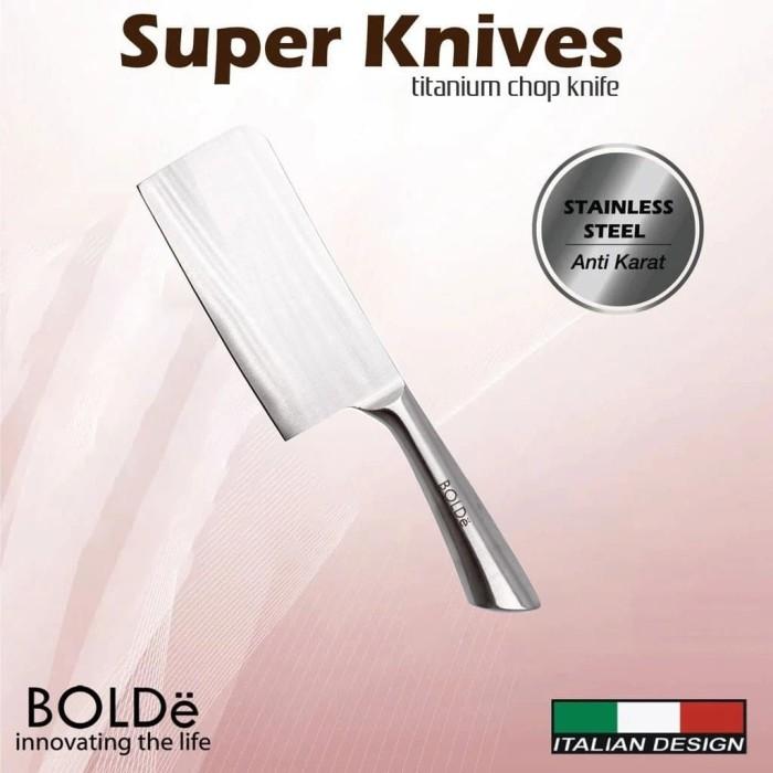 Foto Produk BOLDe Cleaver Chop Knife - Super Knives Titanium dari UTAMA_ELECTRONIC