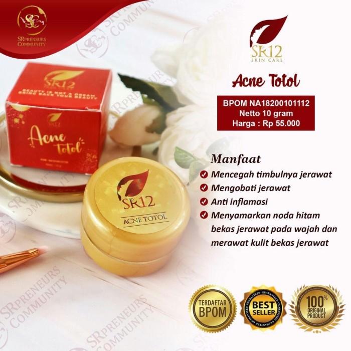 Foto Produk AMPUH !!! SR12 ACNE TOTOL / OBAT JERAWAT / KRIM JERAWAT dari SR12 Skincare.Tangerang