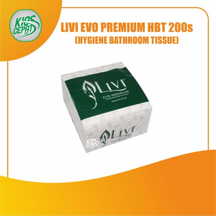 Foto Produk Tissue LIVI EVO PREMIUM HBT 200s (Hygiene Bathroom Tissue) dari KiosCepat