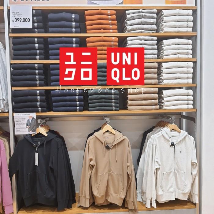 Uniqlo Jaket Pria Uniqlo Jacket Sweater Hoodie Lengan Panjang Sedia Hoodie Distro Original Polos Korea Style
