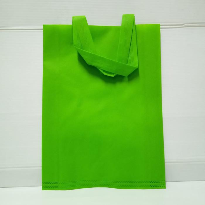 Foto Produk HLS (30X40X10) Goodie Bag /Tas Spunbound-HIJAU (Pack Isi 12 Pcs) dari officemart