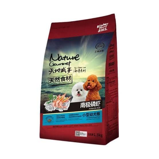Foto Produk Nature Gourmet Small Breed Puppy 1.5kg dari diazpetshop
