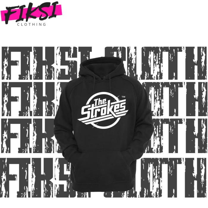 6 Colours The Strokes   Sweater Jumper