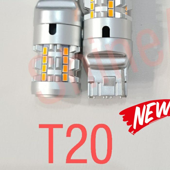 Foto Produk LED SEIN V2 SUPER BRIGHT T20 S25 HEAT SINK PREMIUM QUALITY - T20 TANCAP dari ShineAuto