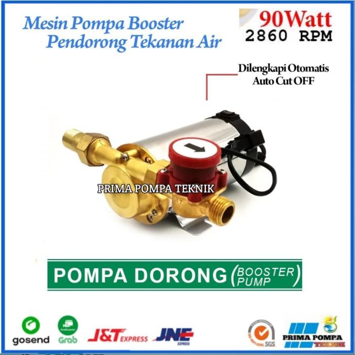 Jual Hoter Mini Pompa Booster Pump 90 Watt Pompa Dorong 90 Watt Otomatis Jakarta Barat Prima Pompa Teknik Tokopedia