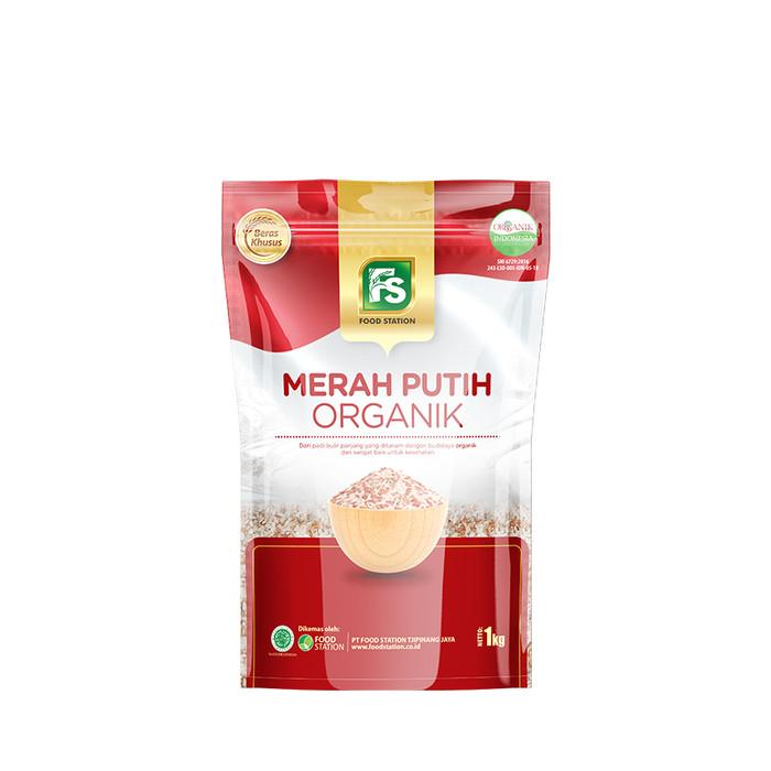 Foto Produk FS Beras Merah Putih Organik 1 kg dari Food Station