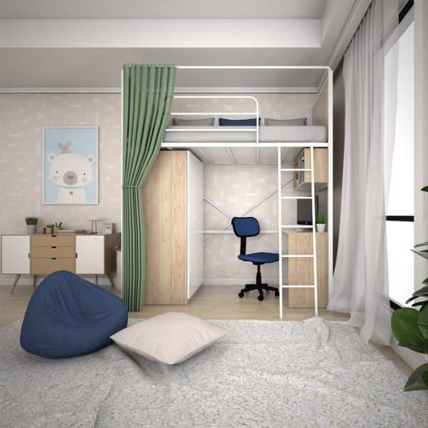 Jual DAVION LOFT BED SET - Kota Bekasi - product CN | Tokopedia