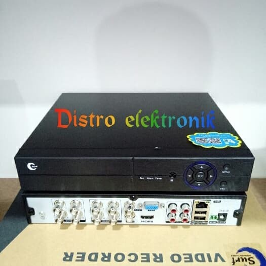 Foto Produk DVR 8 CH XMEYE FULL HD 1080 ( 5 IN 1 ) ANALOG, AHD, HDTVI, HDCVI, & IP dari Distro elektronik
