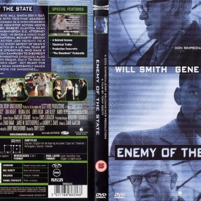 Jual Enemy Of The State 1998 Collection Koleksi Jakarta Barat M Collector Tokopedia